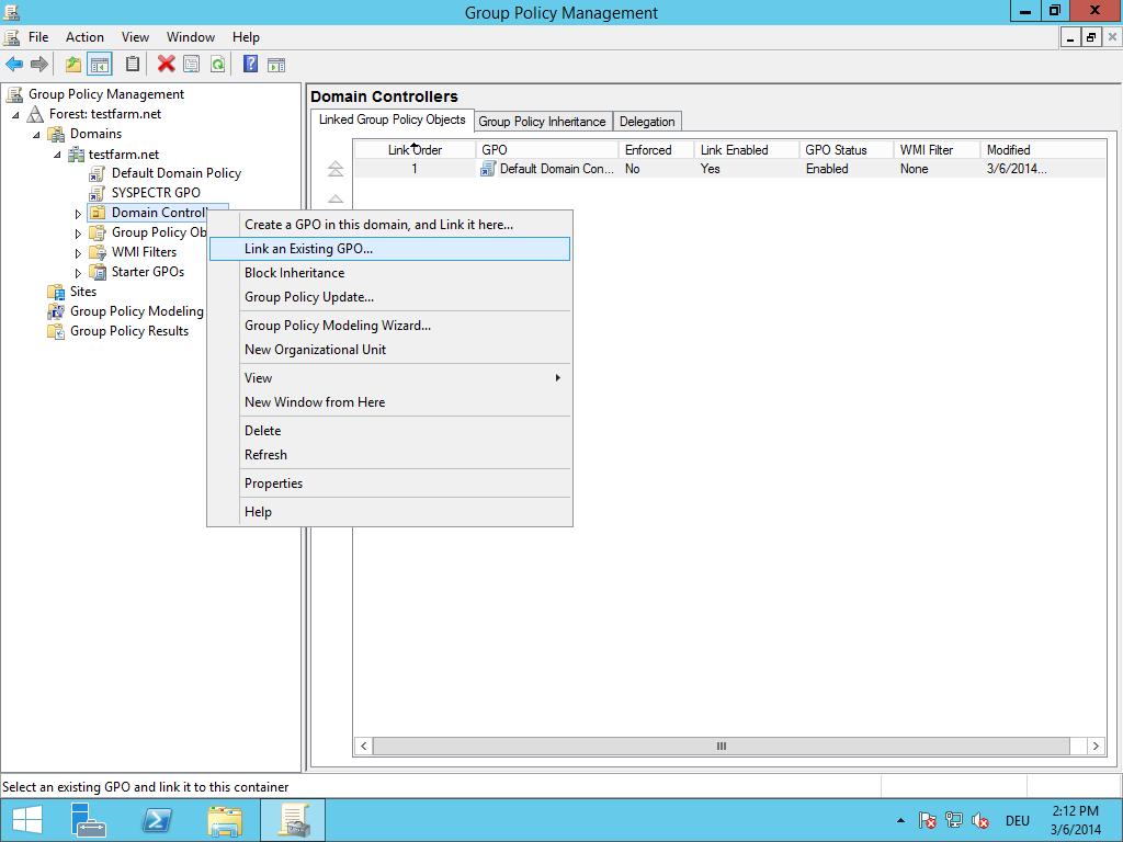 How to deploy O&O Syspectr using Group Policies | O&O Syspectr